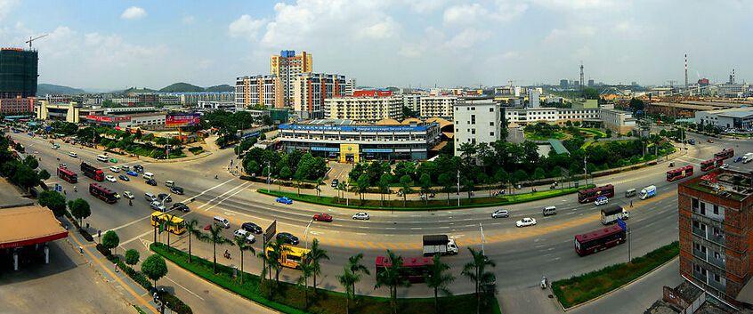 西安浐河经济开发区