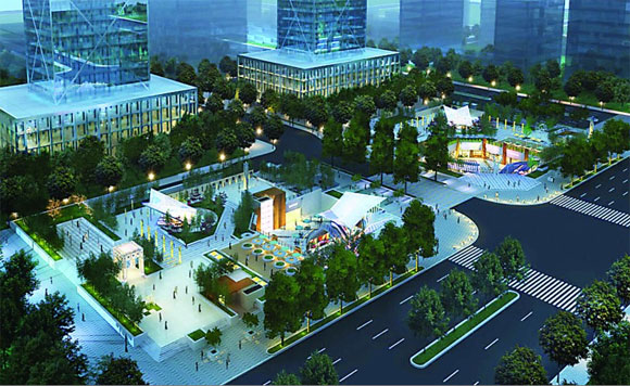 遂宁经济技术开发区欧美产业园