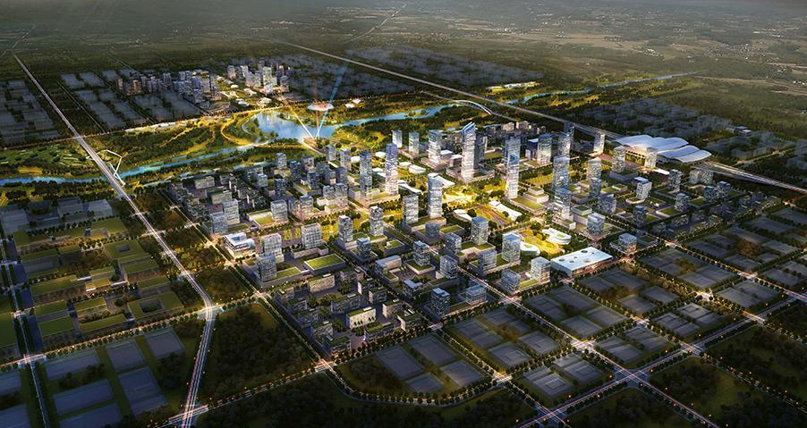 山西转型综改示范区潇河产业园区