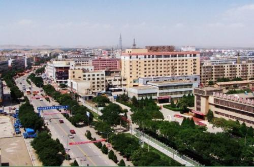 景泰工业集中区