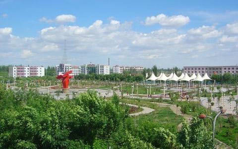 沙雅循环经济工业园区