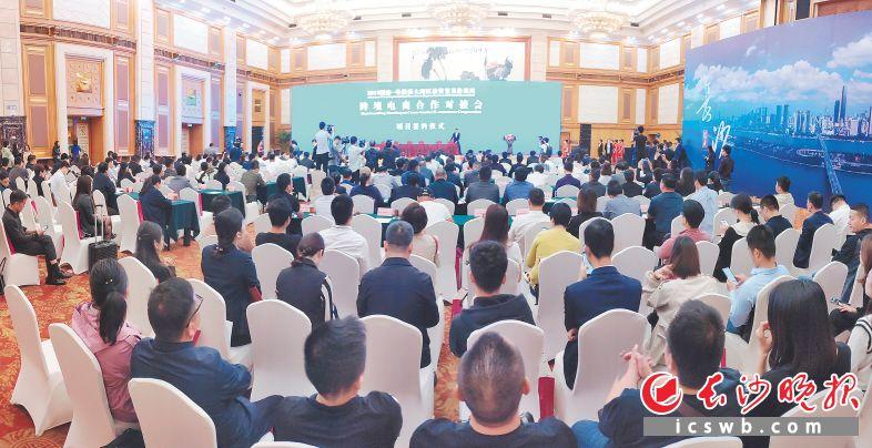 2019年湖南-粤港澳大湾区投资贸易洽谈周