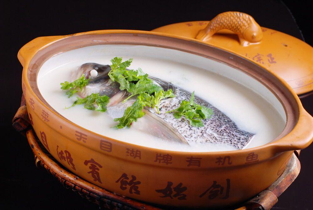 天目湖砂锅鱼头
