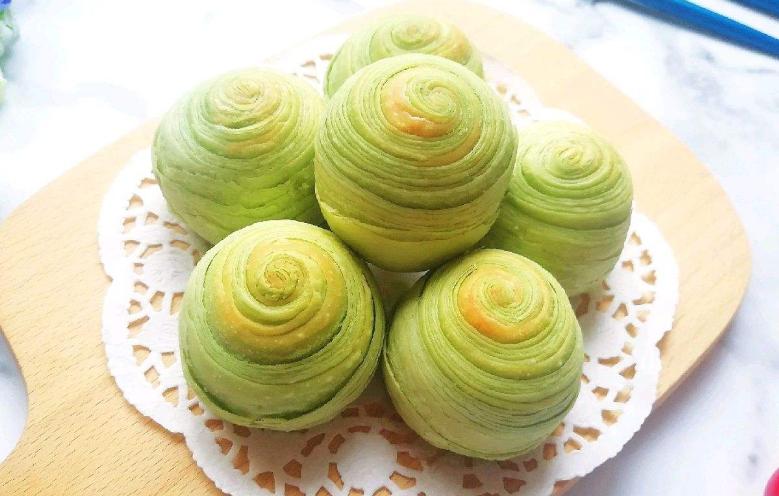 纯绿豆豆酥卷