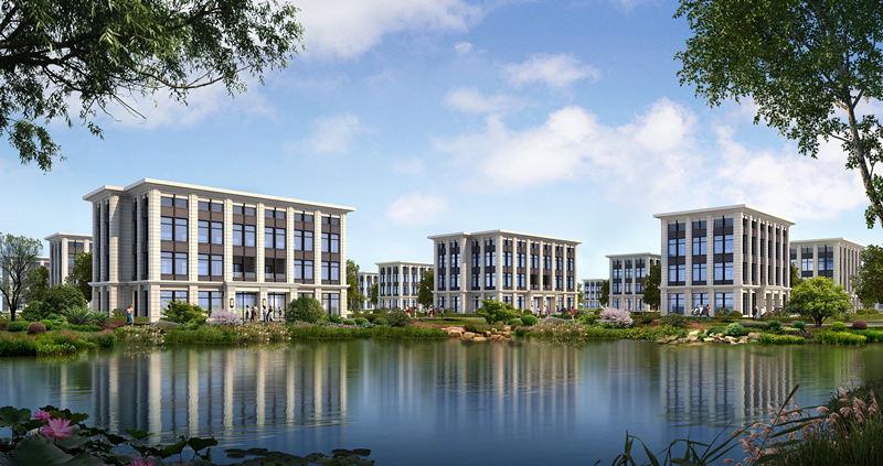 高端别墅办公楼租售,钢结构标准厂房租售,智慧科技产业园火热招商