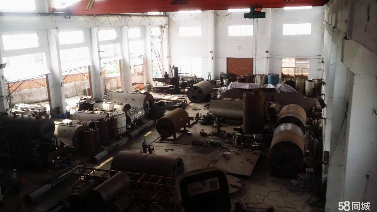厂房招租,锅炉、压力容器厂。