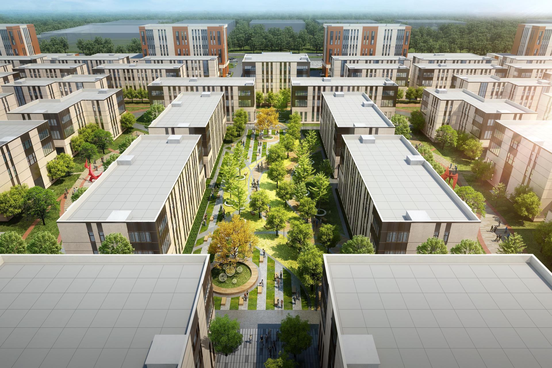 北京新机场附近 600-6000㎡独栋厂房 可生产研发 可环评