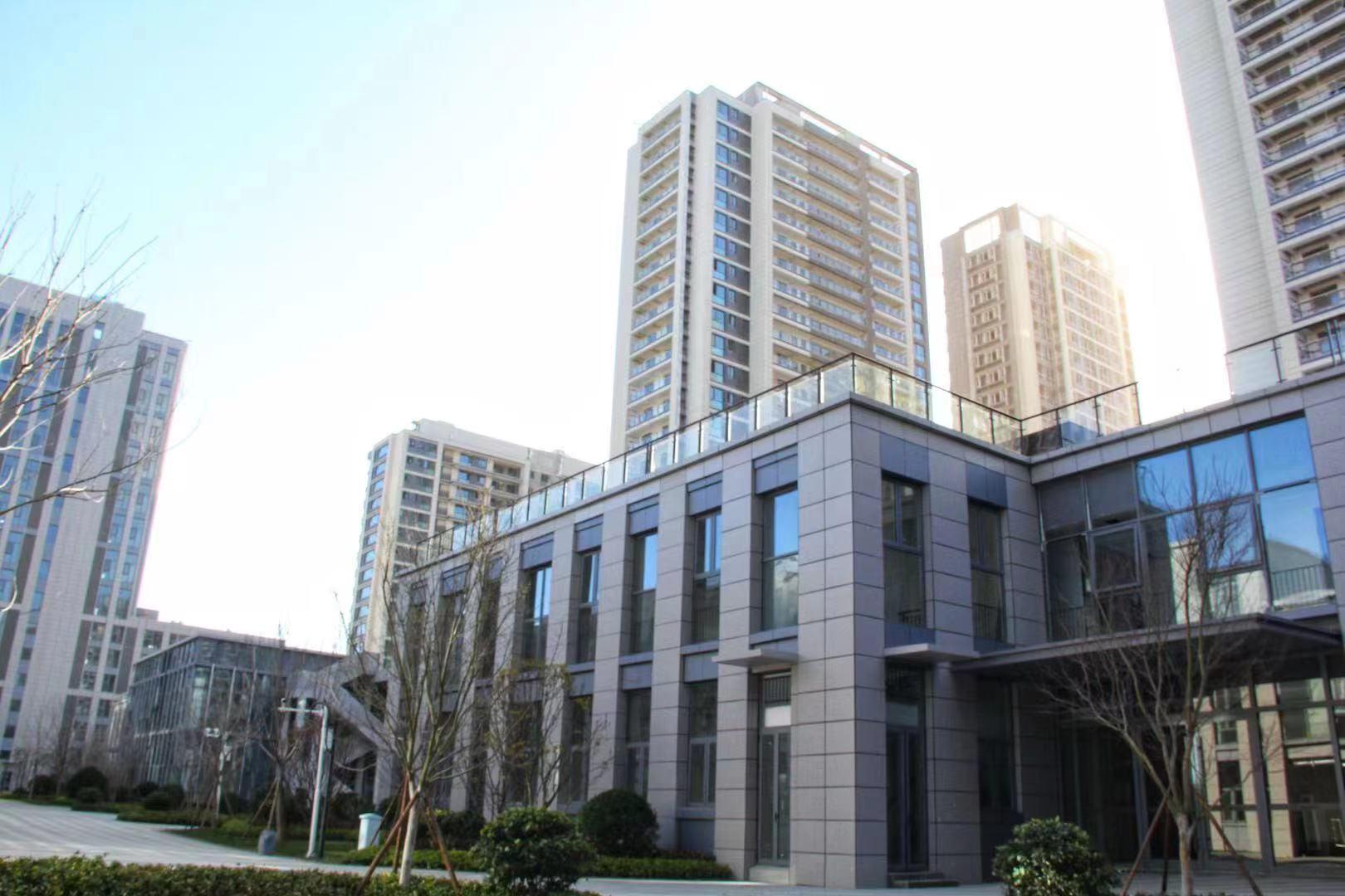 青岛蓝色硅谷独栋办公或者研发写字楼