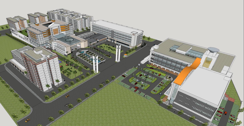 天河智慧城核心地国家科技孵化园区