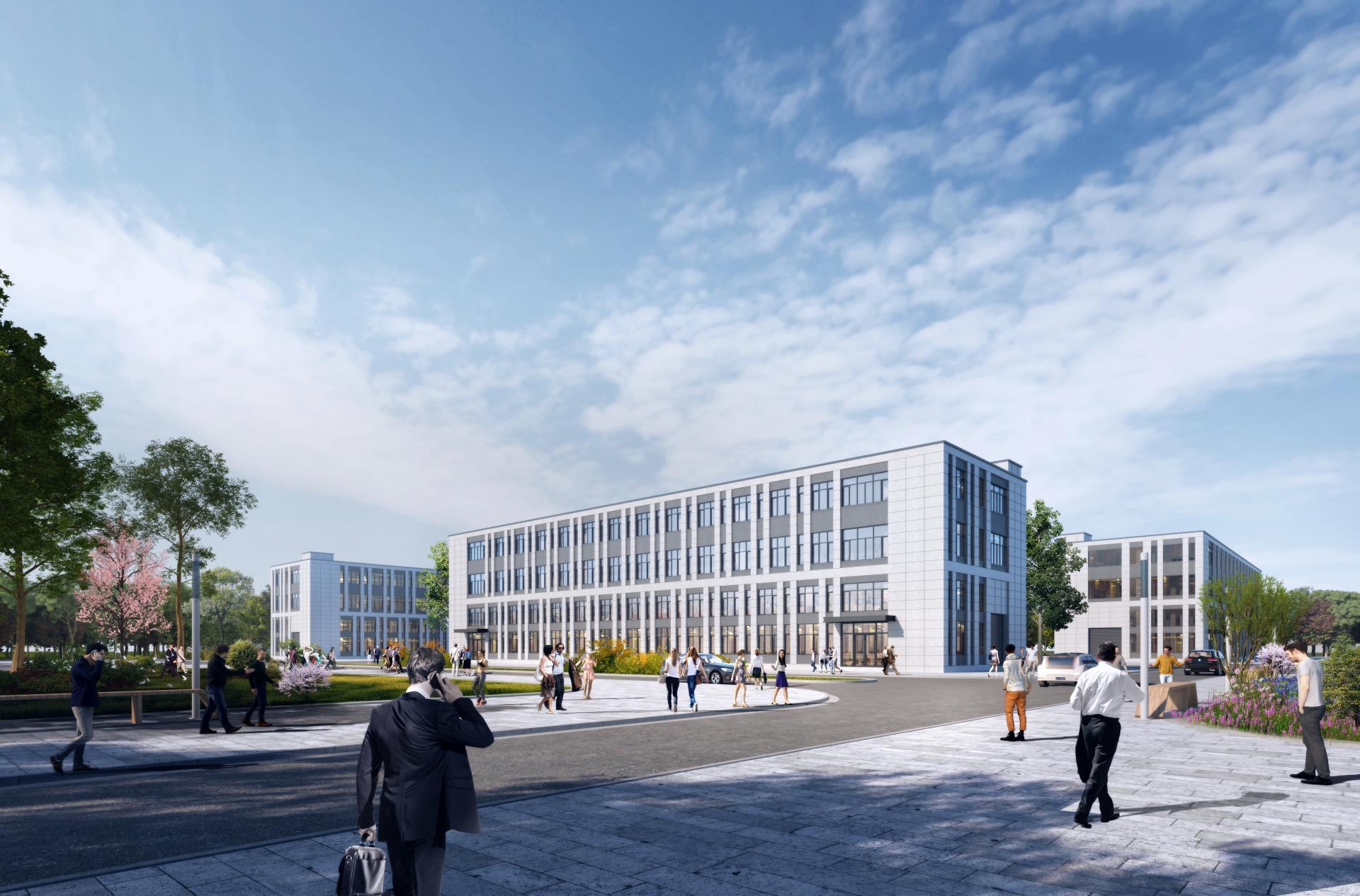 济南高新区2-3层独栋厂房,可按揭可环评!